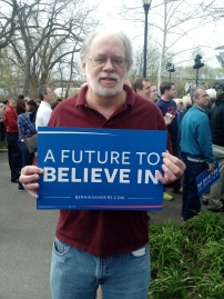 me with bernie sign